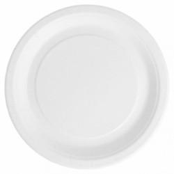 Assiettes Rondes Carton Bio-Laquées