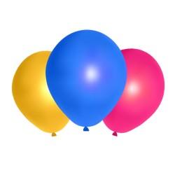 Ballons de baudruche couleurs panachées (x500)