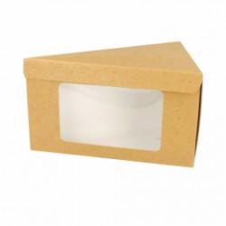 Boîtes triangulaires pâtisserie avec fenêtre (x600)