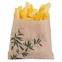 Sachet Frites Feel green (x1000) - 12 x 12 cm