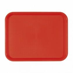 Plateau fast food rouge (x1)
