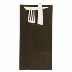 Sachet couvert noir (x50)