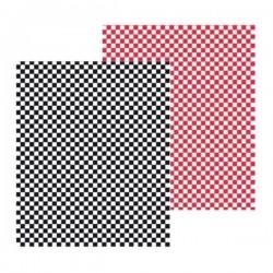 Papier ingraissable (x1000) Rouge ou Noir 28x34 cm