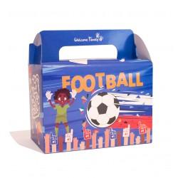 boite menu enfant modèle coloré foot