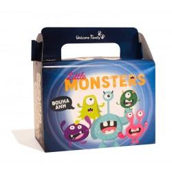 Boite menu enfant - Modèle : Monstre (x100)