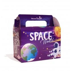 Boite menu enfant - Modèle : Space (x100)