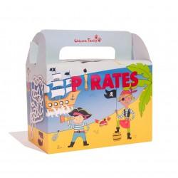 boite repas enfant carton pirate
