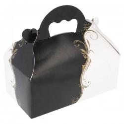Boîte Pâtisserie avec anses (x50)