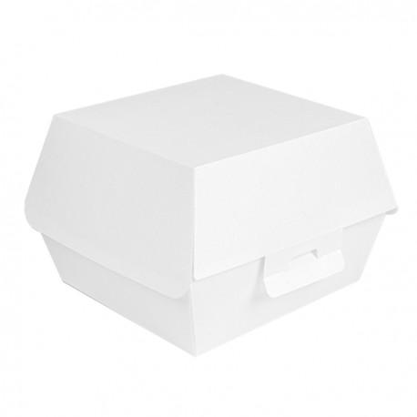 Boîtes hamburger carton  Medium blanche
