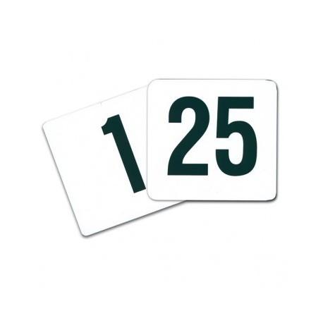 Numéro de table - 1à25 - 1à50
