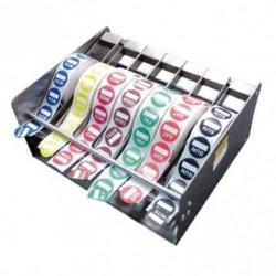 Distributeur étiquettes - Métal