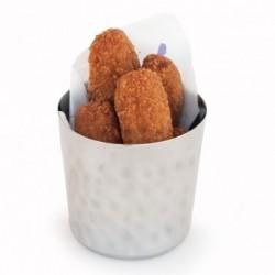 Pots à frites - Inox