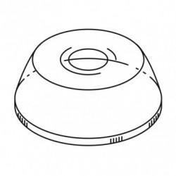 Couvercle coupole avec trou (x1000)
