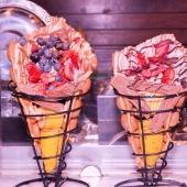 Les cônes en acier sont en destockage sur foodbazar ! 😎 . . . . . . . #equipement #emballage #coneacier #coneafrite #conedessert #venteaemporter #foodbazar