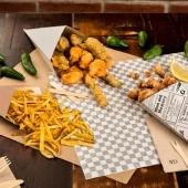 Voici les nouveaux cornets à frites en carton micro nano ondulé, une technique de fabrication qui rend l'emballage plus léger et thermique ! 👌🏻  Sur FoodBazar.fr 🤩  . . .  #emballage #emballagesbiodégradables #emballagealimentaire #emballageecologique #emballagecarton #emballagekraft #emballagerestaurant #foodbazar #fournisseuremballage #cornetfrites #emballagefrite #frites