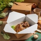 Boîte de haute qualité pour repas préparés, pâtisseries, restauration. 🤩 Une boîte étanche et ingraissable ! 😎  Aptes au micro-ondes 👌🏻  A découvrir sur foodbazar.fr   #emballage #fournisseur #boite #foodbazar #venteaemporter