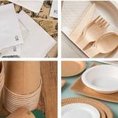 Des accessoires et des emballages en bois ou en carton . L'alternative à ces objets en plastique à usage unique interdit en 2021 comme les pailles, les couverts, les touillettes. 🥤  Bientôt les soldes chez Food Bazar ! 😁  #foodbazar #emballageburger #emballagecarton #fournisseuremballage