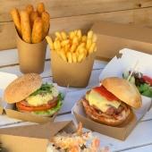 Boîte à burger ou gobelet à tapas ?! 🍟  ➡️ Rendez vous sur foodbazar.fr  Pour des personnalisations d'emballages envoyez-nous un mail à contact@foodbazar.fr 😁  #emballage #boiteburger #emballagetapas #foodbazar